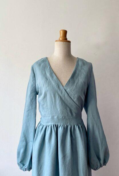 talja lniana sukienka Zoe
