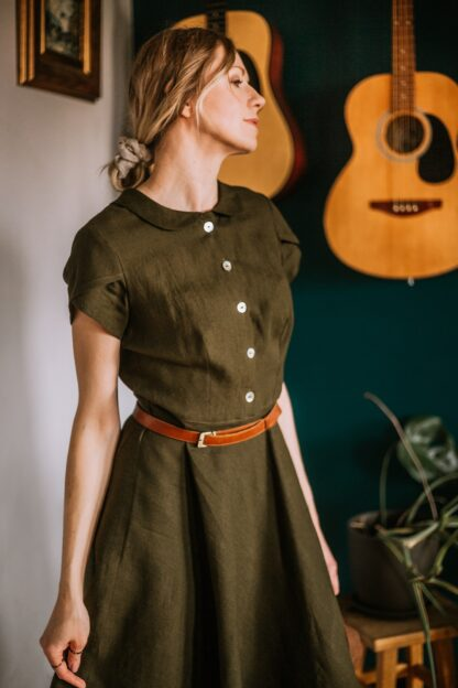 www.talja.pl lniana sukienka